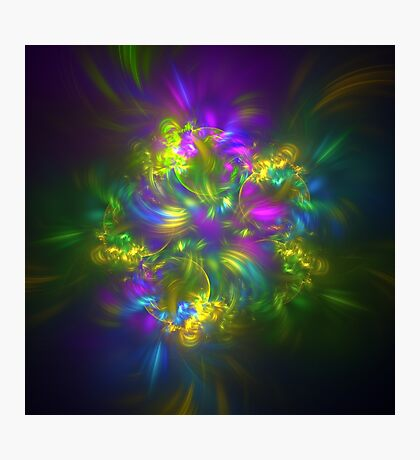 Five stars #fractals Photographic Print