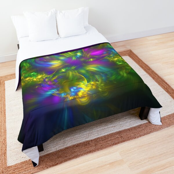Five stars #fractals Comforter