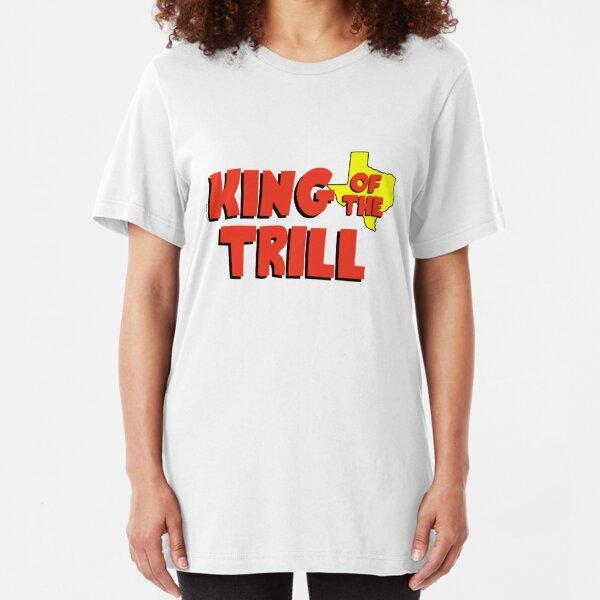 Trill Graffiti  Red Adult T-Shirt
