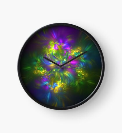 Five stars #fractals Clock