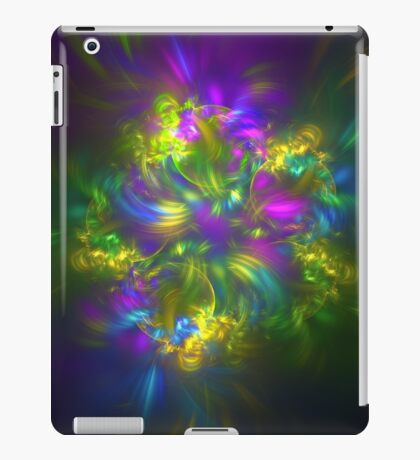 Five stars #fractals iPad Case/Skin