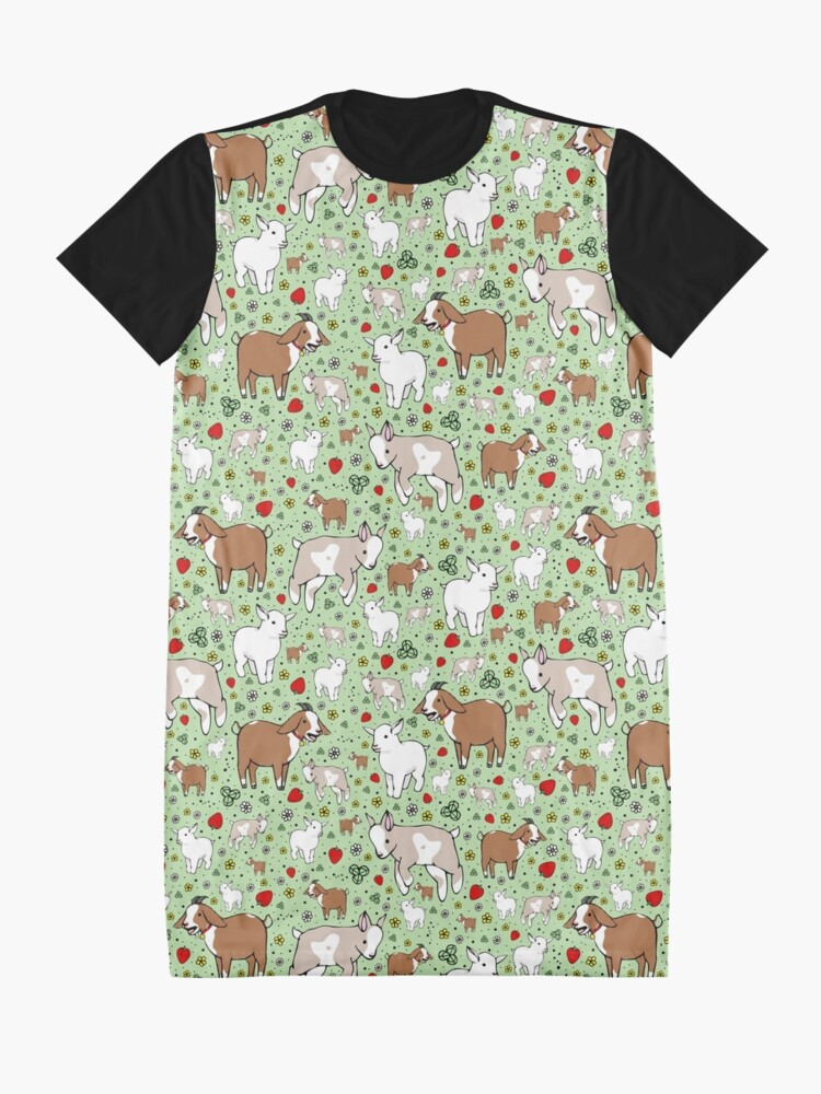 Alternate view of Goats Graphic T-Shirt Dress