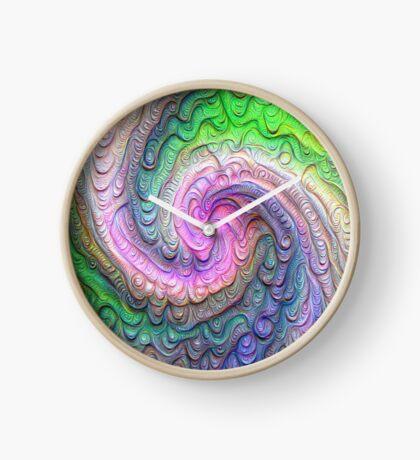 Frozen color Wave #DeepDream #Art Clock