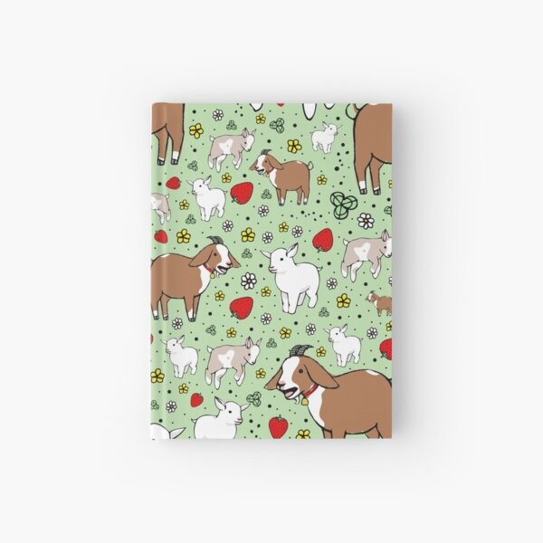 Goats Hardcover Journal