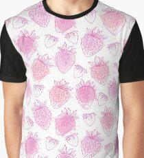 Pink strawberry. Graphic T-Shirt