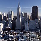 San Francisco Skyline by John Violet