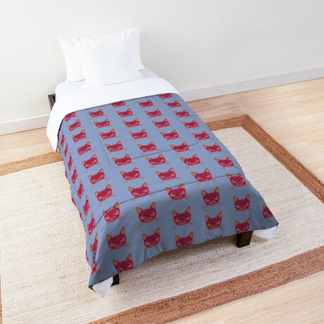 Rose Hungry Cat Comforter