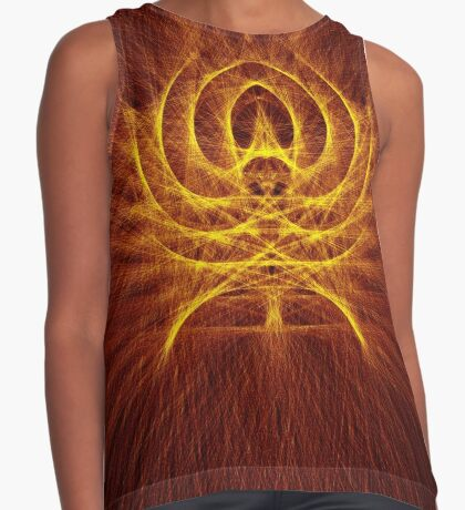 Alien Spider Sleeveless Top