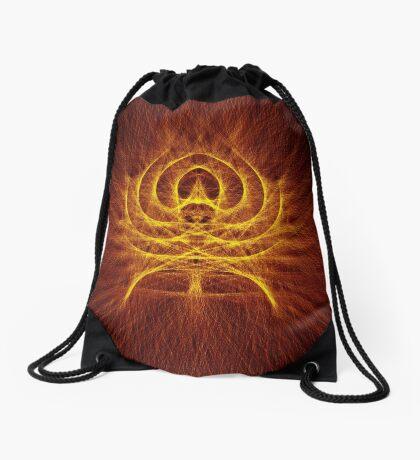 Alien Spider Drawstring Bag