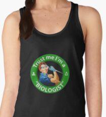 "Trust me, I'm a ""Biologist"" Women's Tank Top"