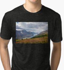 Saskatchewan Glacier, Canada Tri-blend T-Shirt