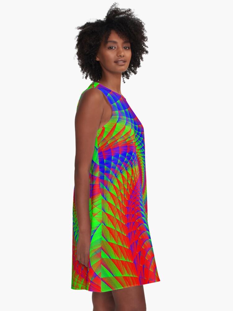 Alternate view of YOLO A-Line Dress