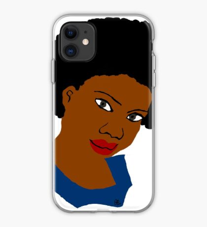 Love Your Beautiful Afro Natural Hair Tee iPhone Case