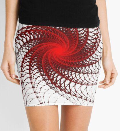 Red Propeller Planet Mini Skirt