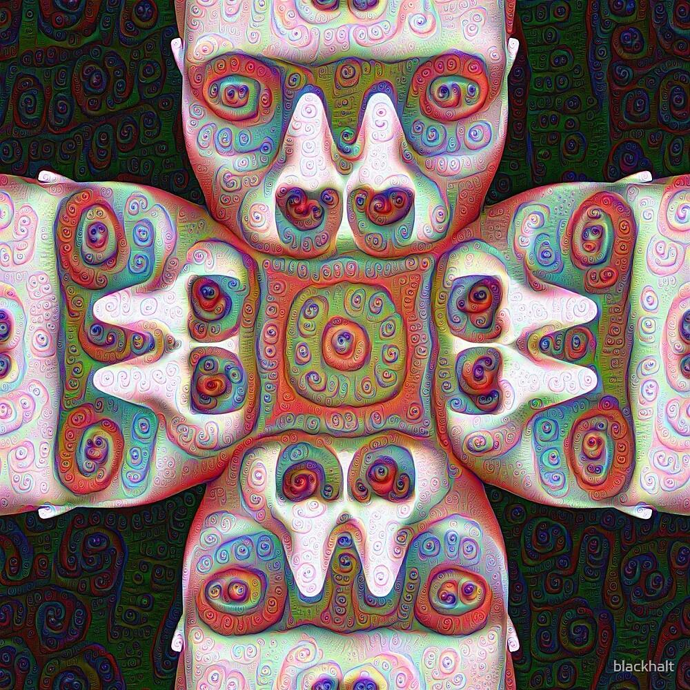 #DeepDream Masks 5x5K v1455625554 by blackhalt
