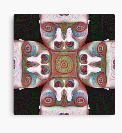 #DeepDream Masks 5x5K v1455625554 Canvas Print