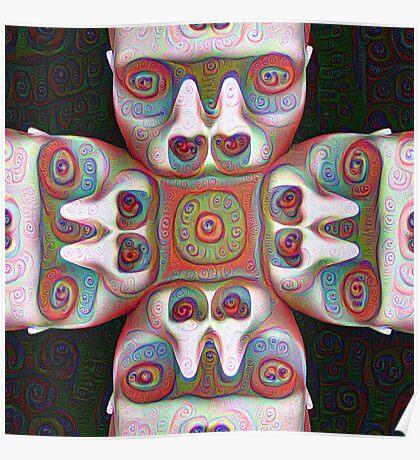 #DeepDream Masks 5x5K v1455625554 Poster