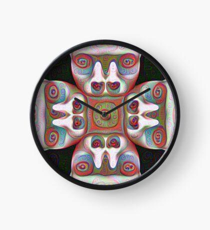 #DeepDream Masks 5x5K v1455625554 Clock