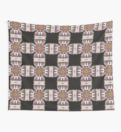 #DeepDream Masks 5x5K v1455625554 Wall Tapestry