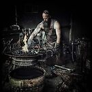 Blacksmith by Margaret Metcalfe