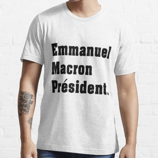 Emmanuel Macron T-shirt essentiel