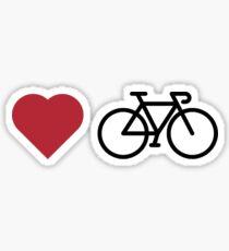 love my bike Sticker