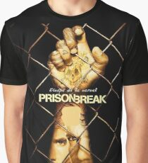Prison Break Ascape Graphic T-Shirt