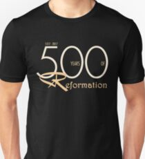 Reformation 500th Anniversary - Martin Luther Unisex T-Shirt