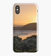 Sunset from the Great Ocean Road, Victoria, Australia iPhone Case/Skin
