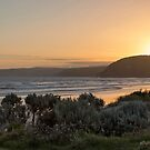Sunset from the Great Ocean Road, Victoria, Australia by LisaRoberts