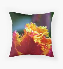 Skagit Valley Tulip Festival Throw Pillow