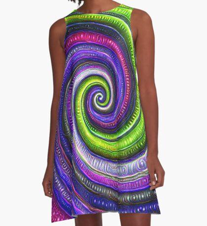 Source #DeepDream #Art A-Line Dress