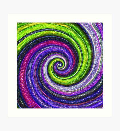 Source #DeepDream #Art Art Print
