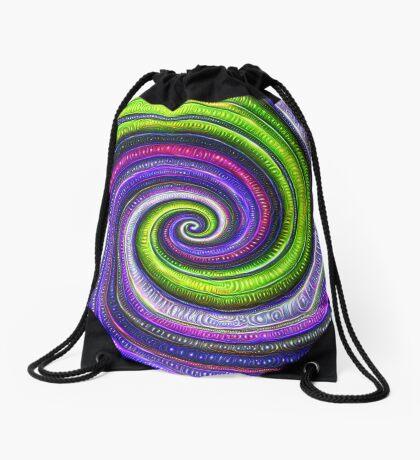 Source #DeepDream #Art Drawstring Bag
