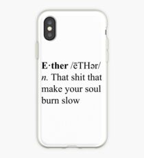 Ether Definition iPhone Case