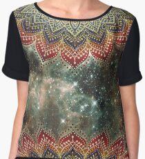 Folklore Galaxy Power Mandala Women's Chiffon Top