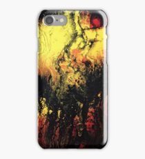 Flowing lava iPhone Case/Skin