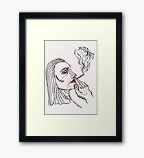 Death Becomes Me Framed Print