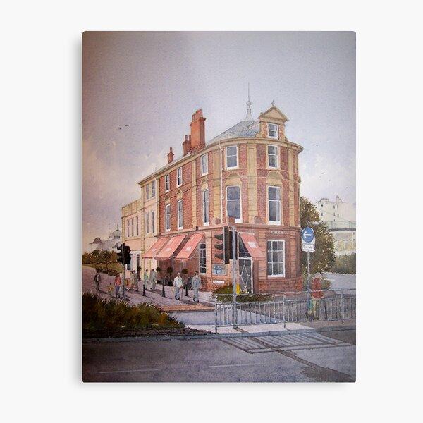 Cary building, Torquay, Devon, England Metal Print
