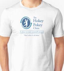 Die Hokey Pokey Klinik Slim Fit T-Shirt
