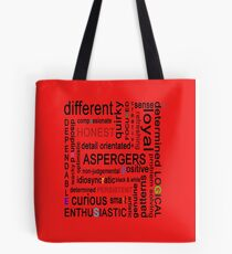 Colourful Aspergers 2# Tote Bag