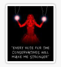 The Dark Queen Rises Sticker