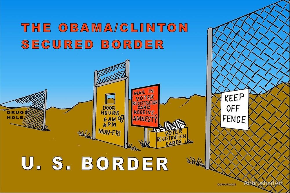 Secured Border by AirbrushedArt