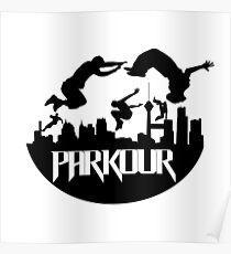 Parkour Urban Poster