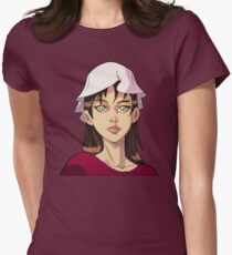 Children of Liberty - Ally Portrait Women's Fitted T-Shirt