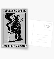 Black Magic Postcards