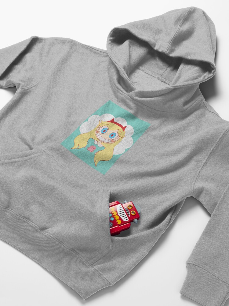 Alternate view of star vs the forces of evil Kids Pullover Hoodie