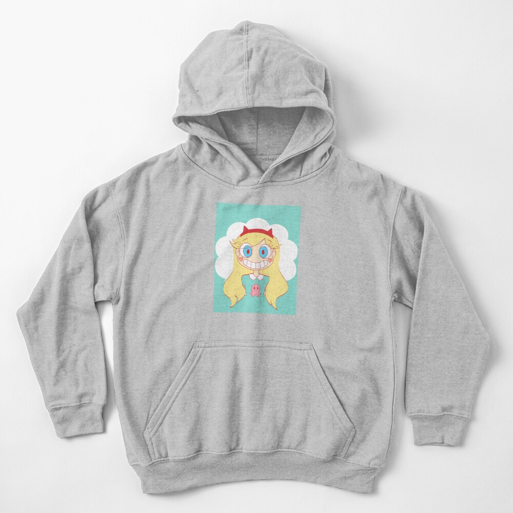 star vs the forces of evil Kids Pullover Hoodie