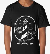 Lighthouse Follow Your Bright Light Explore Long T-Shirt