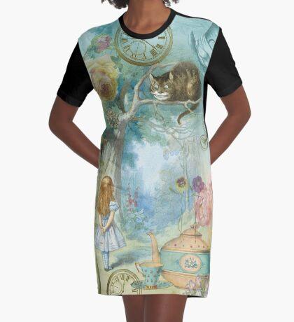 mundo maravilloso Vestido camiseta